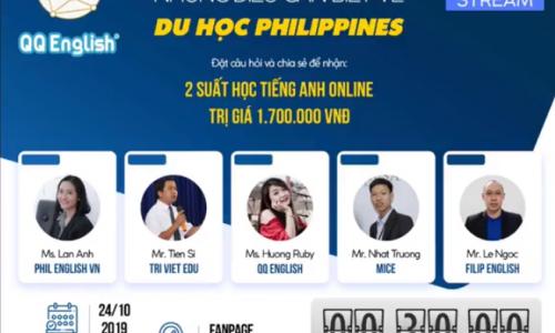 Talkshow: NHỮNG THÔNG TIN CẦN BIẾT VỀ DU HỌC TIẾNG ANH Ở PHILIPPINES